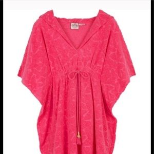 🐳EUC Juicy Couture Terrycloth Kaftan Cover Up
